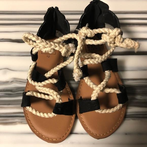 GAP Shoes | New Black Sandals | Poshmark